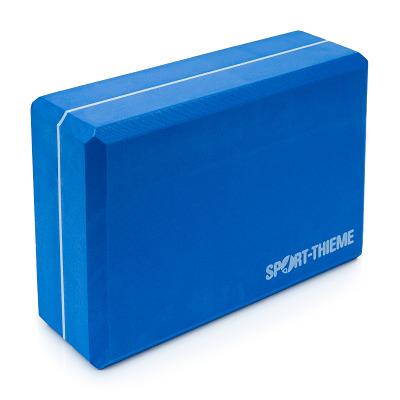 Sport-Thieme® Yoga Block, Hart, Blau