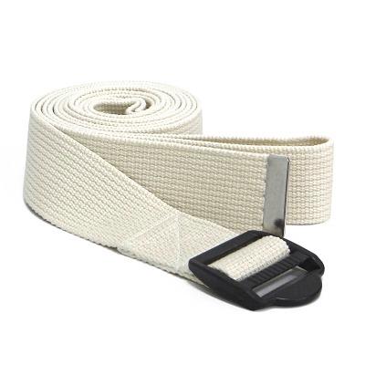 Sport-Thieme® Yoga Gurt Baumwolle, Natur