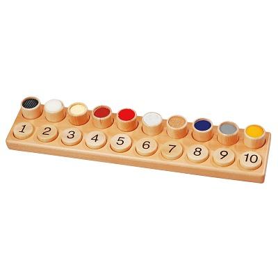 Fühl- und Zahlentastspiel