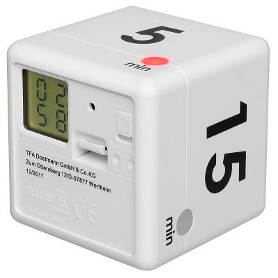 "TFA Digitaler Timer ""Cube"", Blau"