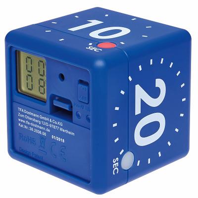 "TFA Digitaler Timer ""Cube"", Weiß"