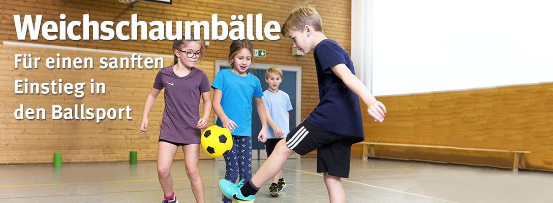 Weichschaumbälle - Zum Erlernen von Ballsportarten