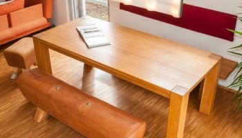 Altes Turngerät - neues Möbelstück