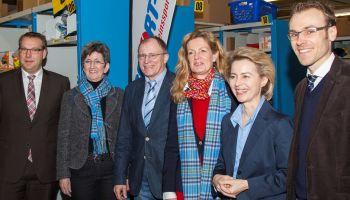 Bundesministerin für Arbeit und Soziales zu Gast bei Sport-Thieme