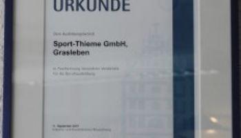 Ausbildung bei Sport-Thieme III - Vorbereitet in die Abschlussprüfung
