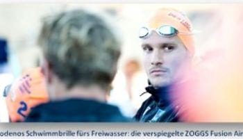 Jan Frodeno holt Weltmeistertitel mit Zoggs® Schwimmbrille