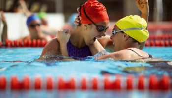 Beginn der Schwimmweltmeisterschaft 2013