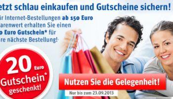 Gutschein Aktion: Nur bis 23.9.2013 - Jetzt mitmachen!