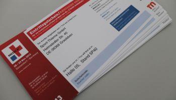 Jetzt Gutscheine für die MEDICA 2013 in Düsseldorf sichern!