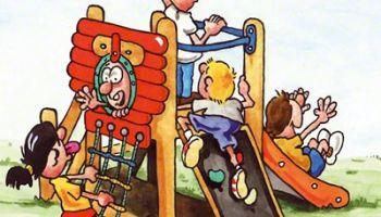 U3-Spielplatzgeräte für Kleinkinder