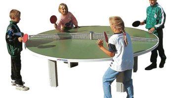 Welche Tischtennisplatte für Draußen?