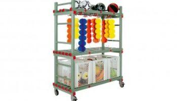 Der REA® Kunststoff Kombi-Materialwagen für das Schwimmbad