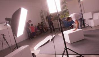 Fotoarbeiten: Ein Tag am Set bei Sport-Thieme