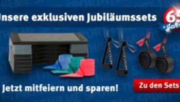 65 Jahre - Unsere Sport-Thieme Jubiläumssets