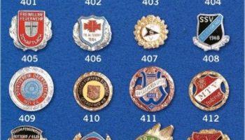 Sportlerehrungen: Jetzt Emailleabzeichen, Urkunden, Medaillen und Pokale kaufen