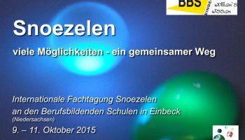 Jetzt anmelden: Internationale Fachtagung SNOEZELEN in Einbeck