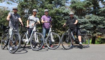 Jetzt neu: Betriebsfahrräder im Sport-Thieme Fuhrpark