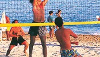 Das perfekte Beachvolleyballfeld