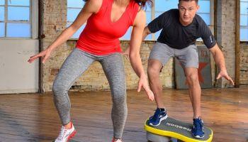 Workouts mit dem Easytone-Step von Reebok