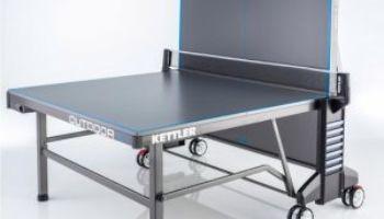 """Kettler """"Outdoor 10"""": Der perfekte Tischtennistisch für euren Garten"""