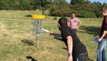 Disc Golf: Unsere Azubis testen den Trend