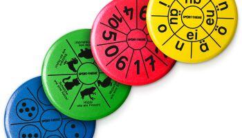 Spielideen mit Wurfscheiben für den bewegten Unterricht