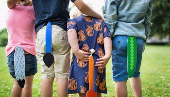 Schwänzchenspiel: Das Highlight fürs Kindergartenfest