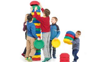 Bewegte Innovation: Spielideen mit Joboo Stapelsteinen