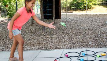 """Spielideen für das Bewegungsspiel """"Jump and Throw"""""""