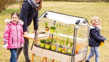 Gärtnern - Neue Spielidee für kleine Gruppen