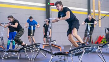 Innovative Sportgeräte: Lateral Rebound Trampolin von Alpha Champ