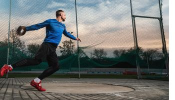 Neu im Sport-Thieme Team: Zehnkämpfer KaiKazmirek