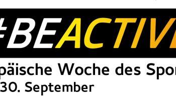 #BeActive at work: Heute startet die Europäische Woche des Sports