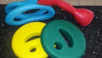Sport-Thieme geht baden: Aquafitness-Produkte im Test