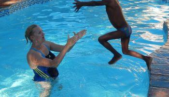 Seepferdchen für Namibische Kinder