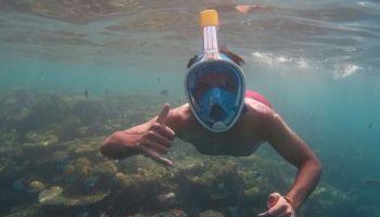 Der neue Trend im Wassersport: Die Vollgesichts-Schnorchelmaske