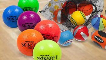 Weichschaumbälle – die Klassiker für den Schul- und Vereinssport
