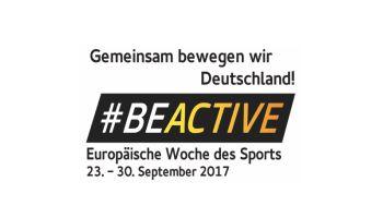 #BeActive – die Europäische Woche des Sports