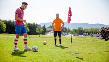 Fußballgolf - Rund und rund gesellt sich gern