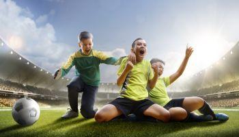 Fußballspiele für den Schulsport