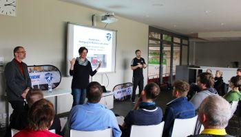 Gehörlosensportverband zu Gast bei der Sport-Thieme Akademie