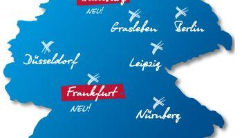 7 Mal Sport-Thieme: Jetzt auch in Frankfurt und Hamburg