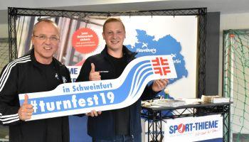 Termin merken: Sport-Thieme beim 32. Bayrischen Landesturnfest in Schweinfurt