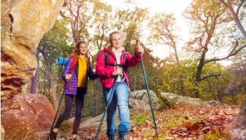 Unser neues Nordic Walking Set für die Schule