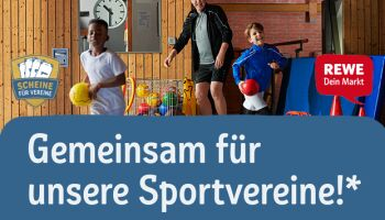 """Sport-Thieme ist Hauptlieferant für REWE Aktion """"Scheine für Vereine"""" 2020"""