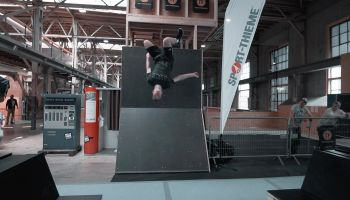 Sport-Thieme beim SKILLS RUN 2018 - Freerunning Contest