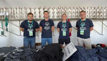 Sport-Thieme Azubis bei den Special Olympics 2021