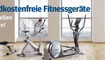 Versandkostenfreie Fitnessgeräte zum Nikolaus