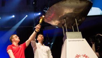 Sport-Thieme Azubis als Volunteers bei den Special Olympics