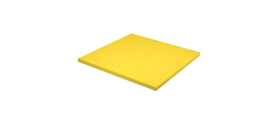 Judomatte  Tafelgröße ca. 100x100x4 cm, Gelb